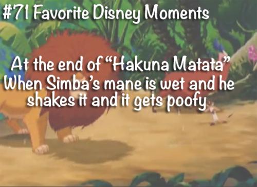 가장 좋아하는 디즈니 moments