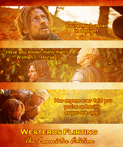 Westeros flirting- The Lannister edition