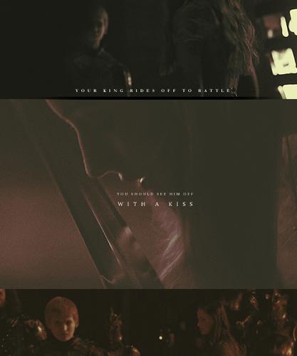 Joffrey & Sansa