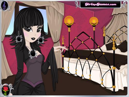 gothic girl!