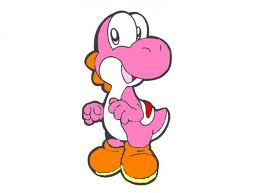 màu hồng, hồng Yoshi