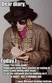 his diary - michael-jackson photo