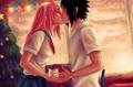 love HD - sasusaku photo
