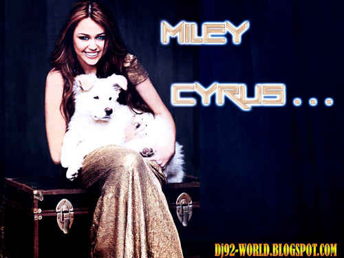 mILEY bY DaVe~!!!  - miley-cyrus Wallpaper