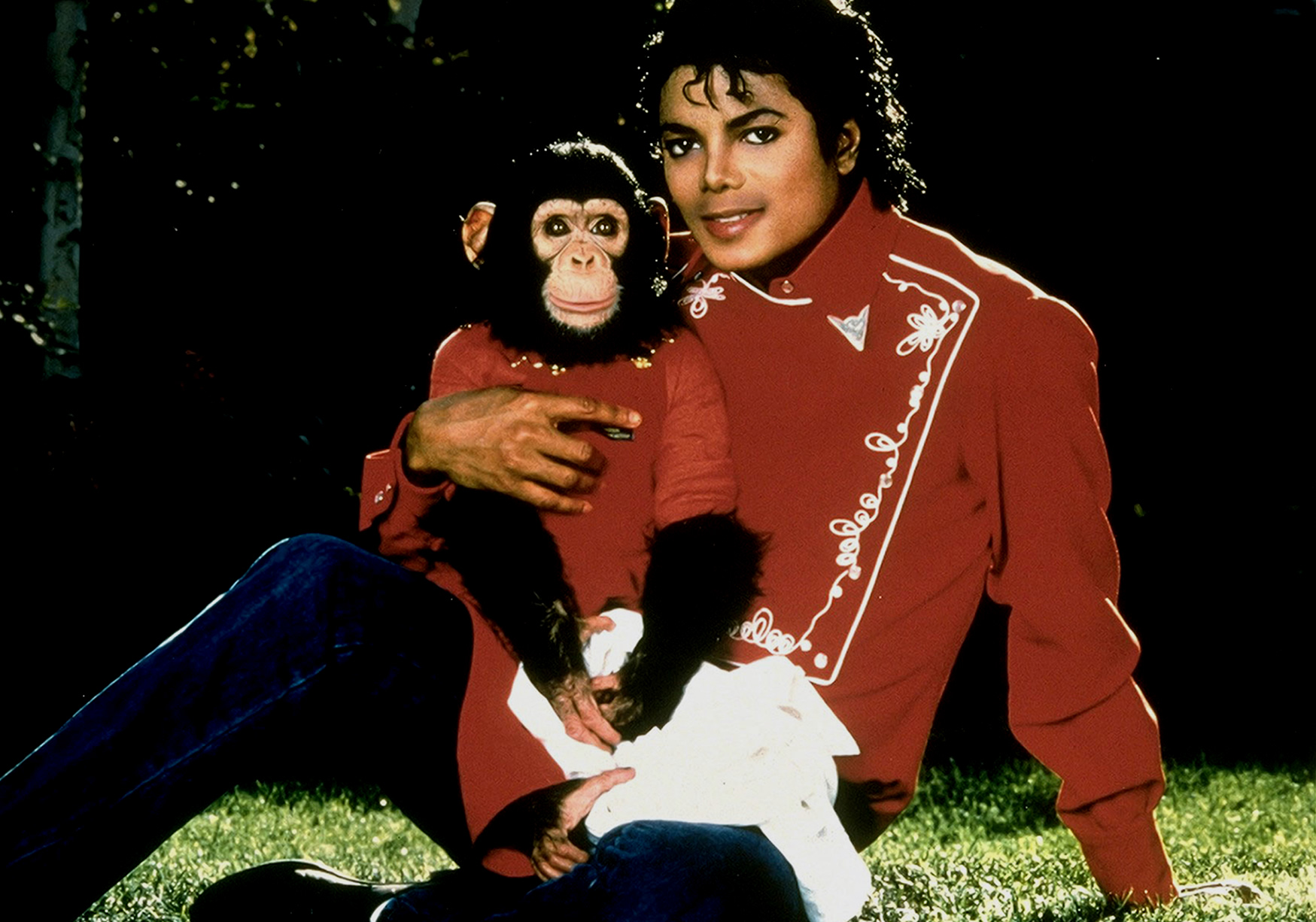 michael and his 动物