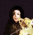 michael and his animals - michael-jackson photo