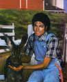 michael and his animals