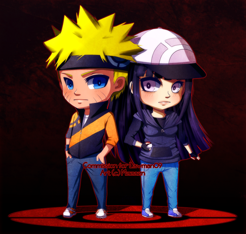 NaruHina wallpaper called naruhina chibi