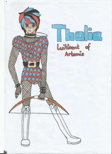 thalia, lutinant of artemis