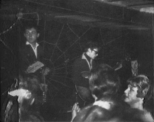the Beatles in Hamburg (I suppose)