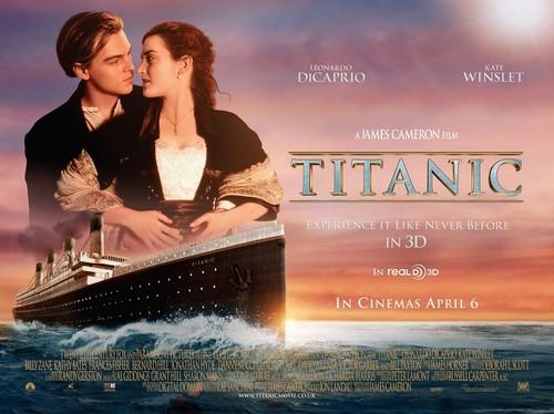 titanic 3D movie