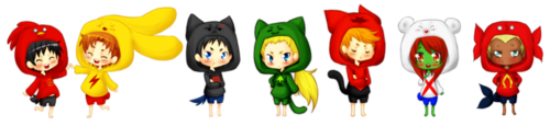 young justice chibi