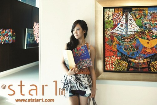 yuri@ Star1 Magazine July Issue Pictures