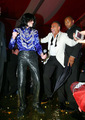 At Christian Audiger's Party - michael-jackson photo