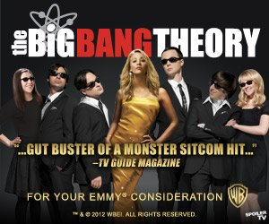 'For Your Consideration' Emmy 2012 ad