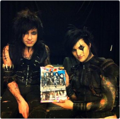 Jake Pitts images ★ Jake & Jinxx ☆  wallpaper and background photos