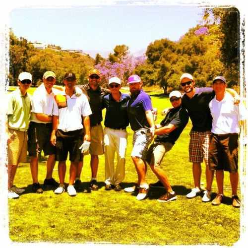 ~Jensen and Friends golfing~ - jensen-ackles Photo