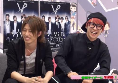 (June 25th) Shin and Ko-ki in Ameba Studio LIVE 表示する 「ワタ@アメ!」