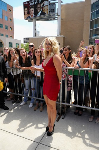 'The X Factor' Season 2 Auditions At The Dunkin Donuts Center In Providence [27 June 2012]