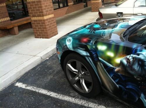2011 Batmobile Camaro RS