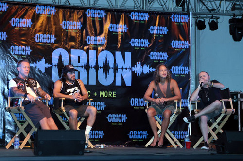 Metallica wallpaper titled 2012 Orion Music + More Festival Press Conference
