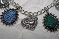 4 Nations Emblems charm bracelet  - avatar-the-last-airbender fan art