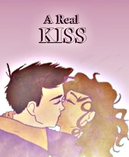 A Real Kiss - the-heroes-of-olympus Fan Art
