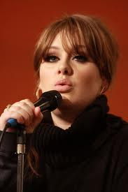 Adele Hintergrund probably with a konzert called ADELE:D