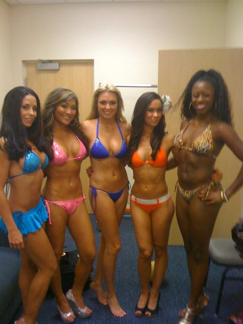 Aj lee in a swimsuit contest