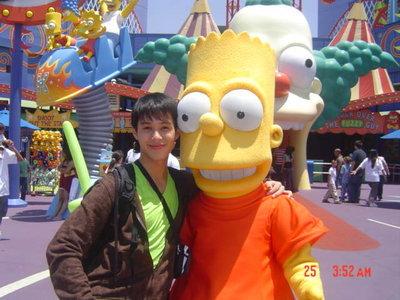 AJ and Bert Simpson