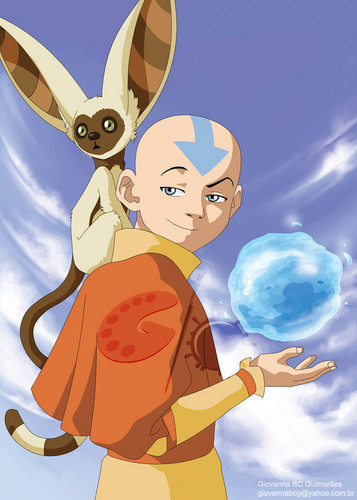 Avatar - La leggenda di Aang wallpaper entitled Aang