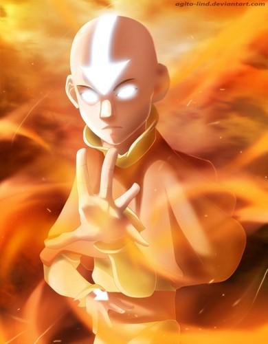 Avatar The Last Airbender Wallpaper Entitled Aang