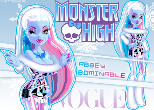 Monster High wallpaper possibly with anime entitled Abbey Bominable