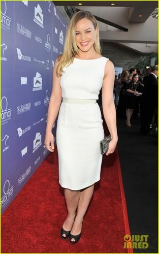 Abbie at the Australia Film Awards in LA