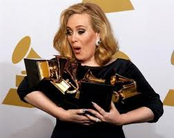 Adele images Adele at Grammy awards wallpaper and background photos