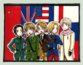 Allied Forces - hetalia-axis-powers photo