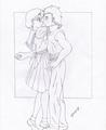 Ami-Saaya_Acercate!! - sailor-mercury fan art