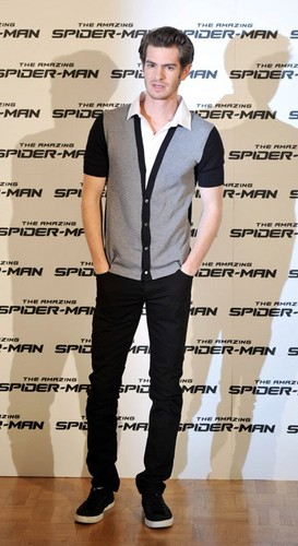 Andrew Garfield at 'The Amazing Spider-Man' photocall in Rome (June 22).