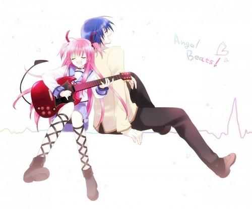 天使 Beats! Yui and Hinata