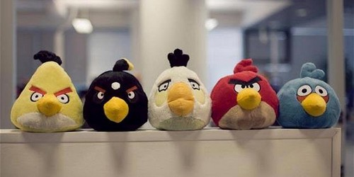 Angry Birds Plush Toy - angry-birds Photo