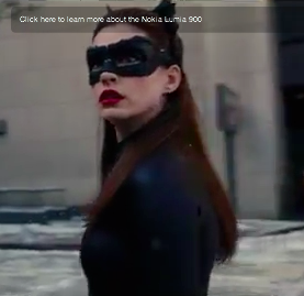 Ann Hathaway has CatWoman