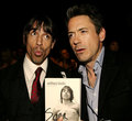 Anthony and Robert Downey Jr. - red-hot-chili-peppers photo