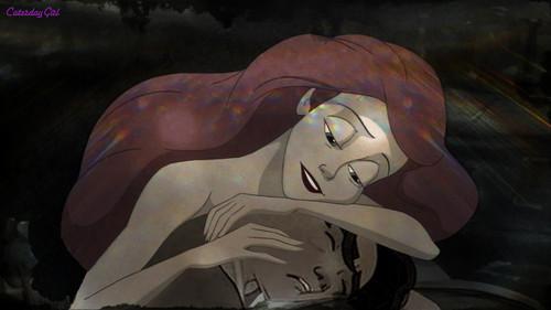 Ariel and Sleeping Jim