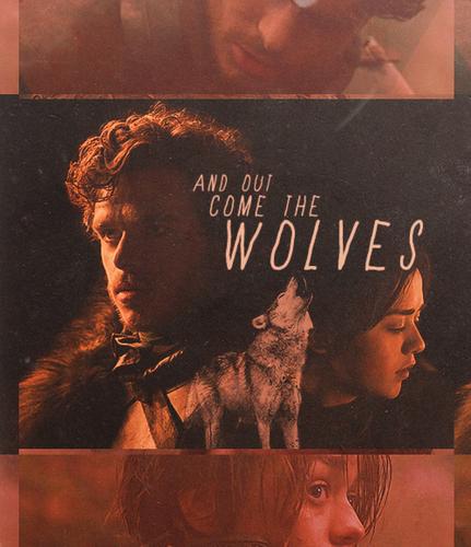 Arya & Robb
