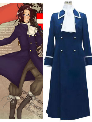 Axis Power Hetalia Austria Cosplay Costume