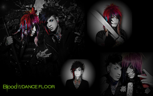 Blood on The Dance Floor wallpaper possibly containing anime called BO†DF // Δ WALLPAPER !
