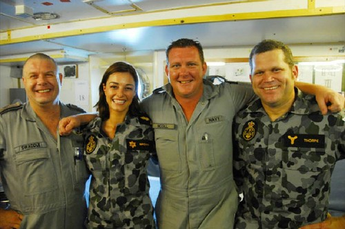 BTS of Sea Patrol