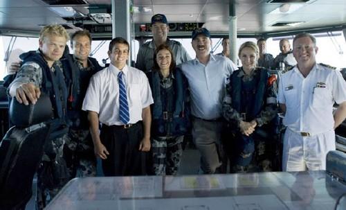 BTS of Sea Patrol