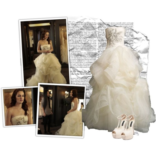 Blair Waldorf Fashion wallpaper containing a bridesmaid entitled BW Fashion