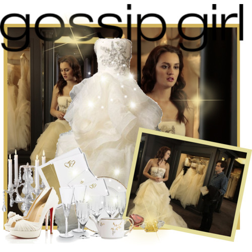 Blair Waldorf Fashion wallpaper possibly with a bridesmaid and a bouquet entitled BW Fashion